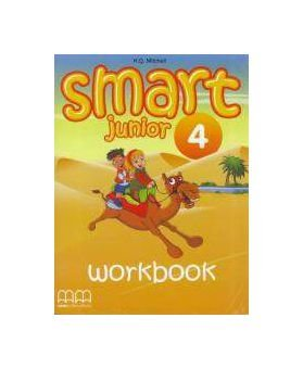 Робочий зошит Smart Junior 4 Work Book with CD/CD-ROM