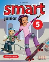 Smart Junior 5 Student's Book Ukrainian Edition - фото обкладинки книги