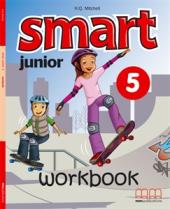 Smart Junior 5 WB with CD/CD-ROM - фото обкладинки книги