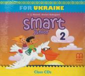 Smart Junior for Ukraine 2 Class Audio CD (НУШ) - фото обкладинки книги
