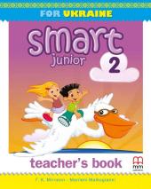 Smart Junior for Ukraine 2 Teacher's Book (НУШ) - фото обкладинки книги