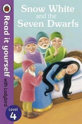Snow White and the Seven Dwarfs - Read it yourself with Ladybird : Level 4 - фото обкладинки книги