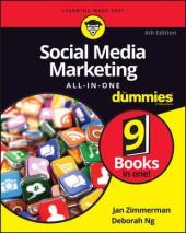 Social Media Marketing All-in-One For Dummies - фото обкладинки книги
