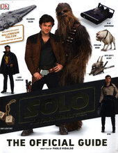 Solo A Star Wars Story The Official Guide - фото обкладинки книги