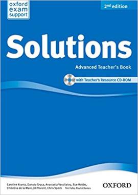 Solutions 2nd Edition Advanced: Teacher's Book with CD-ROM(книга вчителя з диском) - фото книги