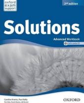 Solutions 2nd Edition Advanced: Workbook with CD-ROM - фото обкладинки книги