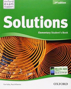Solutions 2nd Edition Elementary: Student's Book (підручник) - фото книги