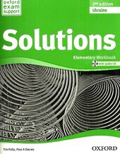 Solutions 2nd Edition Elementary: Workbook with CD-ROM - фото обкладинки книги