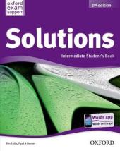 Solutions 2nd Edition Intermediate: Student's Boook (підручник) - фото обкладинки книги