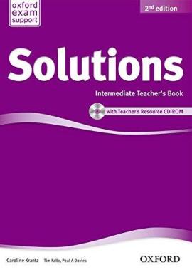 Solutions 2nd Edition Intermediate: Teacher's Book with CD-ROM (книга для вчителя) - фото книги