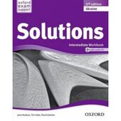 Solutions 2nd Edition Intermediate: Workbook with CD-ROM - фото обкладинки книги