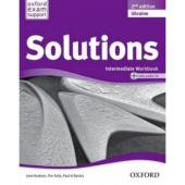 Solutions 2nd Edition Intermediate: Workbook with CD-ROM - фото обкладинки книги