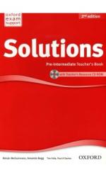 Solutions 2nd Edition Pre-Intermediate: Teacher's Book with CD-ROM (книга вчителя) - фото обкладинки книги