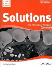 Solutions 2nd Edition Pre-Intermediate: Workbook with CD-ROM (Ukrainian Edition) (аудіо-) - фото обкладинки книги