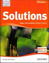 Solutions 2nd Edition Upper-Intermediate: Student's Book (підручник) - фото обкладинки книги