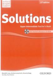 Solutions 2nd Edition Upper-Intermediate: Teacher's Book with CD-ROM (книга вчителя) - фото обкладинки книги