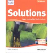 Solutions 2nd Edition Upper-Intermediate: Workbook with CD-ROM - фото обкладинки книги
