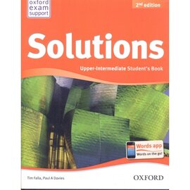 Solutions 2nd Edition Upper-Intermediate: Workbook with CD-ROM - фото книги