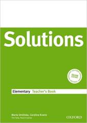 Solutions Elementary. Teacher's Book - фото обкладинки книги