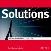 Solutions Pre-Intermediate. Class Audio CDs (набір аудіодисків) - фото обкладинки книги