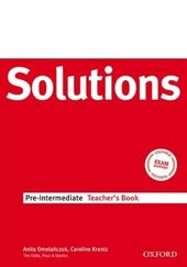 Solutions Pre-Intermediate. Teacher's Book - фото обкладинки книги