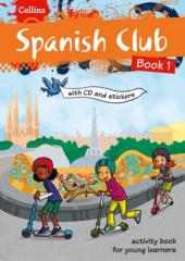 Spanish Club: Book 1 - фото обкладинки книги