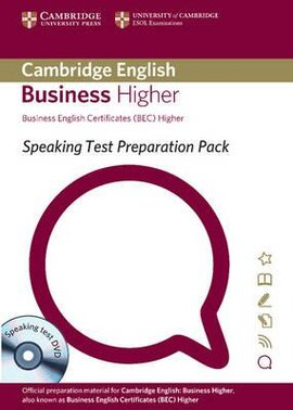 Speaking Test Preparation Pack for BEC Higher: Paperback with DVD - фото книги