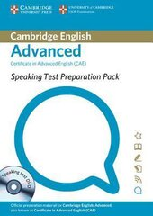 Speaking Test Preparation Pack for CAE: Paperback with DVD - фото обкладинки книги
