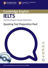 Speaking Test Preparation Pack for IELTS: Paperback with DVD - фото обкладинки книги