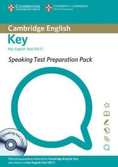 Speaking Test Preparation Pack for KET: Paperback with DVD - фото обкладинки книги