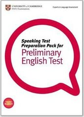Speaking Test Preparation Pack for PET: Paperback with DVD - фото обкладинки книги