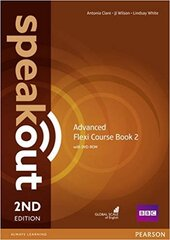 SpeakOut 2nd Edition Advanced Split book 2 Student Book + DVD - фото обкладинки книги