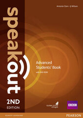 SpeakOut 2nd Edition Advanced Student Book + DVD - фото обкладинки книги