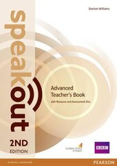 SpeakOut 2nd Edition Advanced Teacher's Book + CD - фото обкладинки книги
