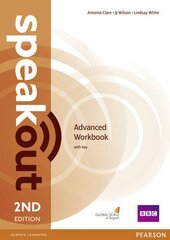 SpeakOut 2nd Edition Advanced Workbook with Key (робочий зошит) - фото обкладинки книги