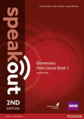 SpeakOut 2nd Edition Elementary Split book 1 Student Book + DVD + Key - фото обкладинки книги