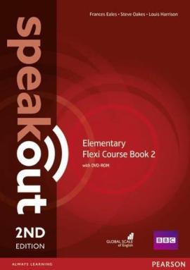 SpeakOut 2nd Edition Elementary Split book 2 Student Book + DVD+ Key - фото книги