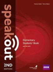 SpeakOut 2nd Edition Elementary Student Book + DVD - фото обкладинки книги