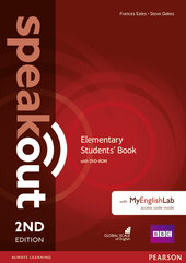 SpeakOut 2nd Edition Elementary Student Book + DVD + MEL - фото обкладинки книги