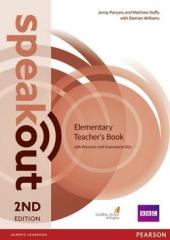 SpeakOut 2nd Edition Elementary Teacher's Book+ CD - фото обкладинки книги