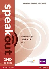 SpeakOut 2nd Edition Elementary Workbook + Key (робочий зошит) - фото обкладинки книги