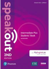 Speakout 2nd Edition Intermediate Plus Student's Book with DVD-ROM and MyEnglishLab - фото обкладинки книги