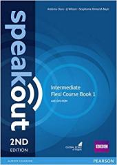 SpeakOut 2nd Edition Intermediate Split book 1 Student Book + DVD+ Key (підручник) - фото обкладинки книги