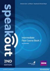 SpeakOut 2nd Edition Intermediate Split book 2 Student Book + DVD+ Key (підручник) - фото обкладинки книги