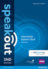 SpeakOut 2nd Edition Intermediate Student Book + DVD+ MEL (підручник) - фото обкладинки книги