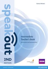 SpeakOut 2nd Edition Intermediate Teacher's Book+ CD (книга вчителя) - фото обкладинки книги