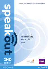 SpeakOut 2nd Edition Intermediate Workbook + Key - фото обкладинки книги