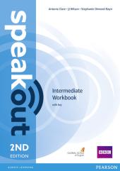 SpeakOut 2nd Edition Intermediate Workbook + Key - фото обкладинки книги