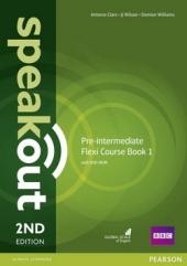 SpeakOut 2nd Edition Pre-Intermediate Split book 1 Student Book + DVD + Key (підручник) - фото обкладинки книги