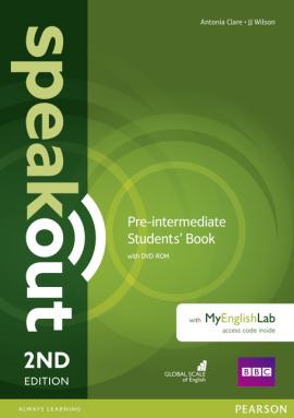 SpeakOut 2nd Edition Pre-Intermediate Student Book + DVD + MEL(підручник) - фото книги